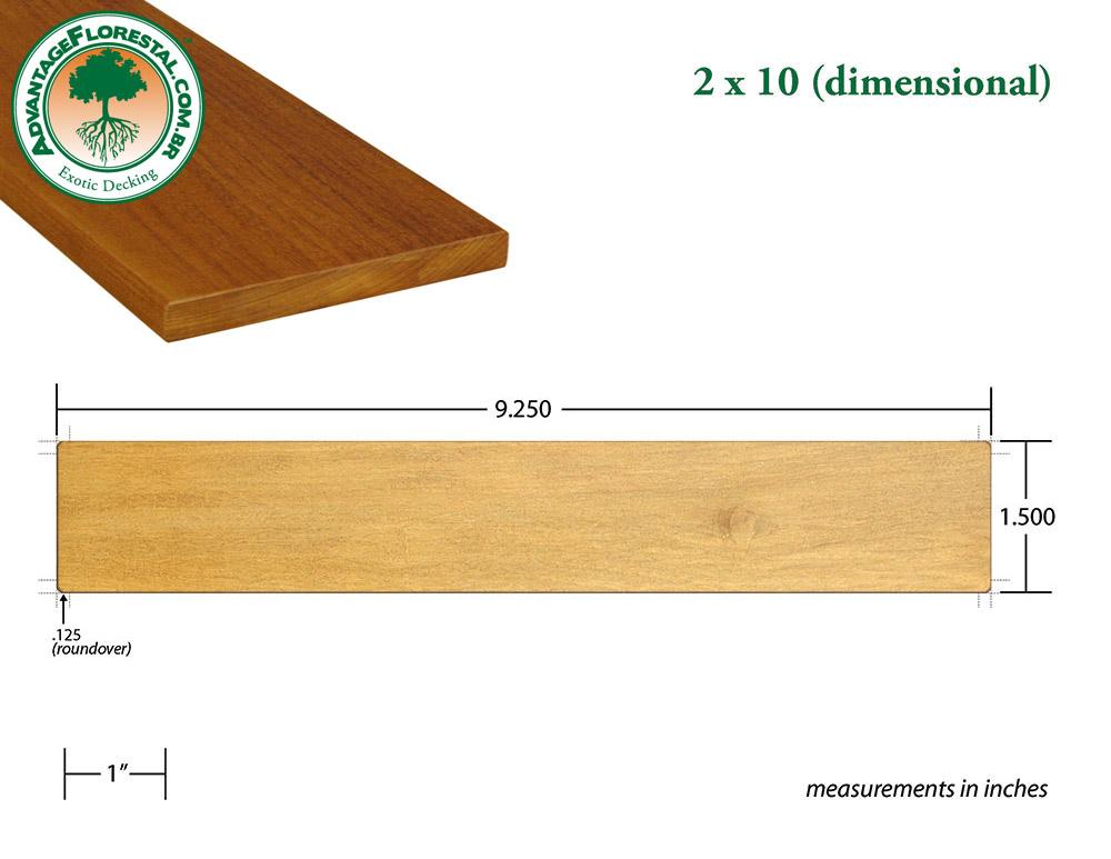Standard Decking 2 in. x 10 in.