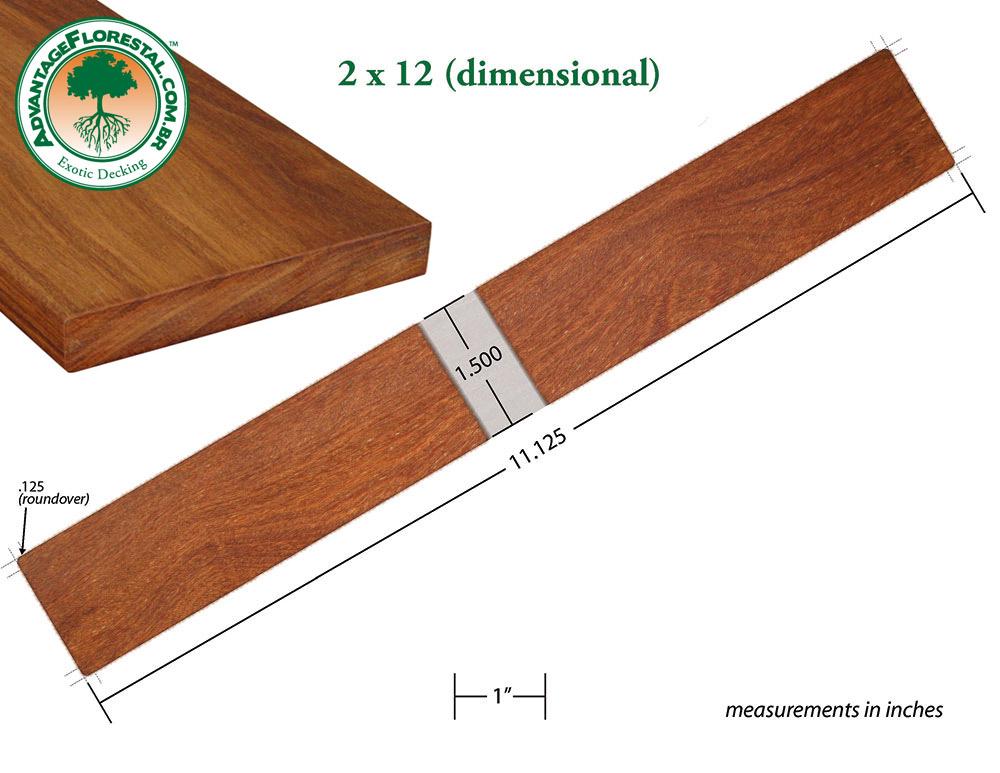 Standard Decking 2 in. x 12 in.