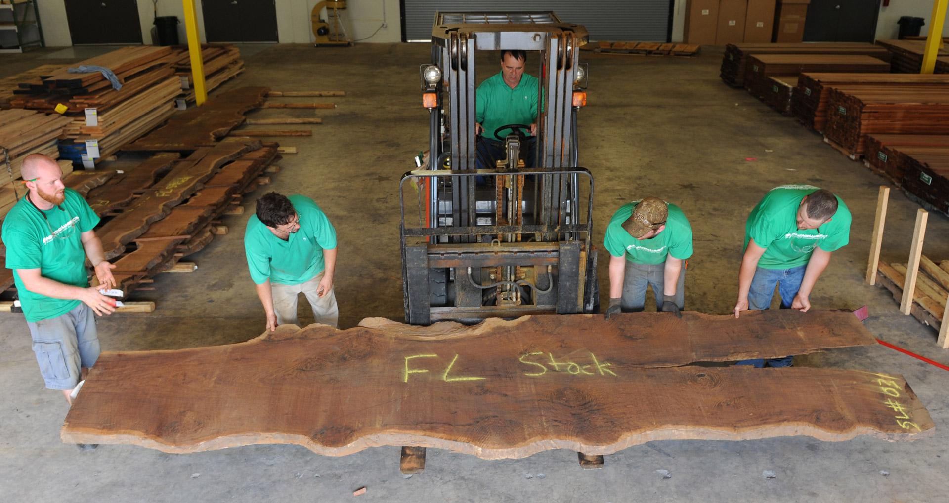 IPE - Hardwood lumber products