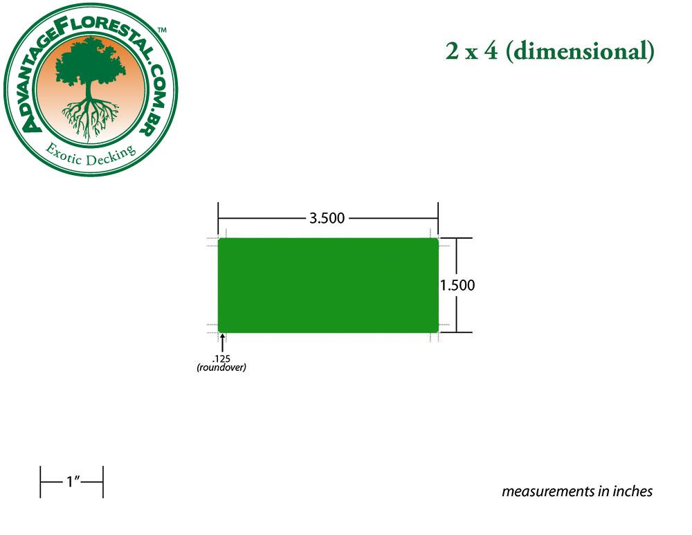 Standard Decking 5/4 in. x 6 in.